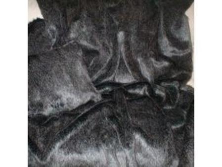 Wolfhound Faux Fur Heart Cushion