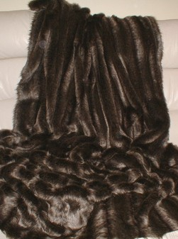 Rocky Mountain Faux Fur Per Meter