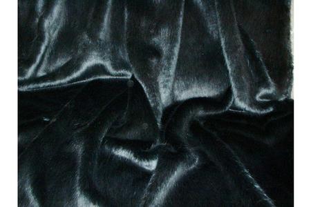 Charcoal Mink Faux Fur Coat