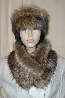 Simba Faux Fur Long Collar