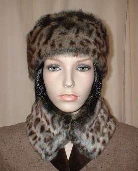 Ocelot Faux Fur Headband