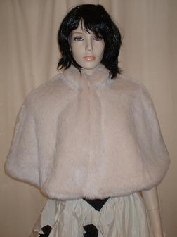 Sunny Bear Faux Fur Cape
