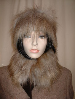 Coyote Faux Fur Headband