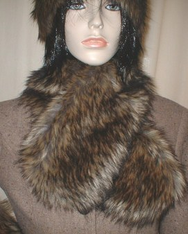 Simba Faux Fur Neck Scarf