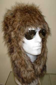 Simba Faux Fur Trapper Hat