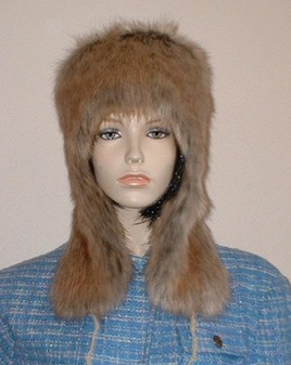 Husky Faux Fur Trapper Hat