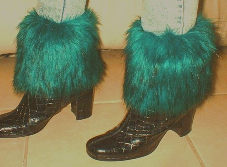 Jade Faux Fur Boot Toppers
