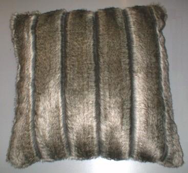 Rocky Mountain Faux Fur Cushion 61x61cm (24 inches)