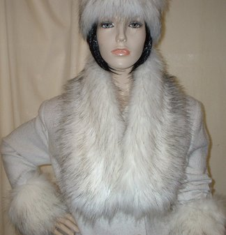 Alaska Faux Fur Neck Scarf