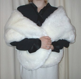 Marilyn Faux Fur Stole