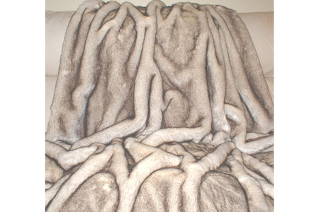 Polar Fox Faux Fur SECONDS Per Meter