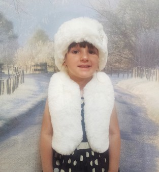 Children's Marilyn Faux Fur Bolero