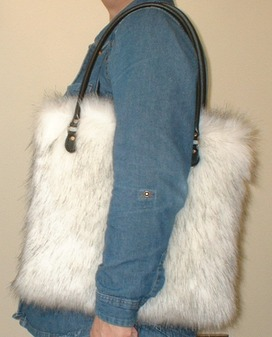 Alaska Faux Fur Bag