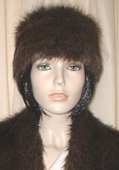 Brown Bear Faux Fur Headband