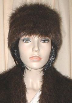 Brown Bear Faux Fur Headband