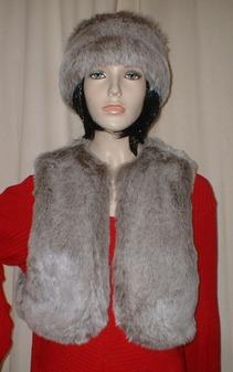 Koala Faux Fur Bolero Waistcoat