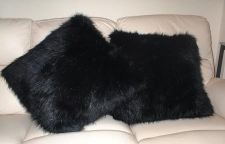 Black Bear Cushion 20 x 20 inches
