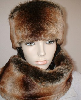Madagascar Faux Fur Hat