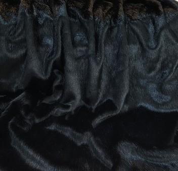 Black Mink Faux Fur SECONDS