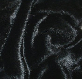 SALE Double Width Black Mink Both Sides Throw