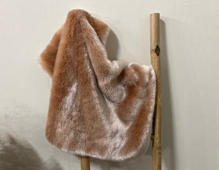 SALE Tissavel Blush Faux Fur Pet Blankets
