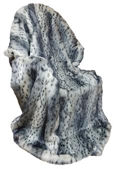 Bob Cat Faux Fur Throws