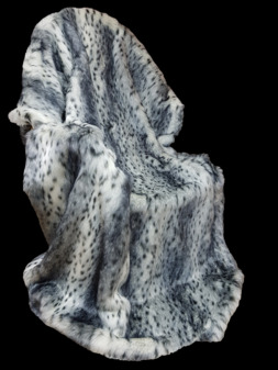 Bob Cat Faux Fur Throws