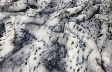 SECONDS Bob Cat Faux Fur Fabric Per Meter
