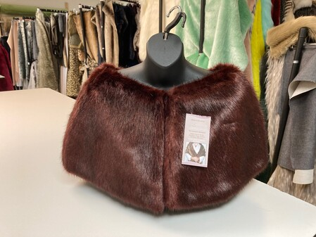 SALE Faux Fur Capelets