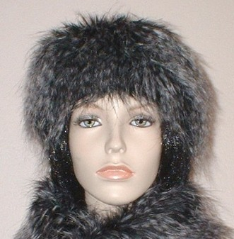 Porcupine Faux Fur Slim Collar/Headband