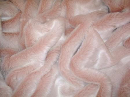 Baby Pink Toddler Faux Fur Blanket