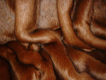 Amber Faux Fur Fabric