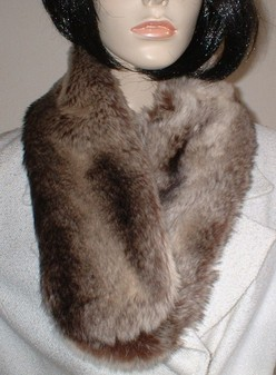 SALE Teardrop Chinchilla Neck Scarf