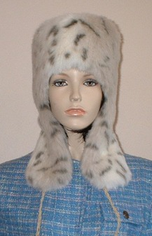 Snow Lynx Faux Fur Trapper Hat