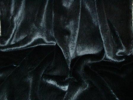 Charcoal Mink Faux Fur SECONDS Mega Sale