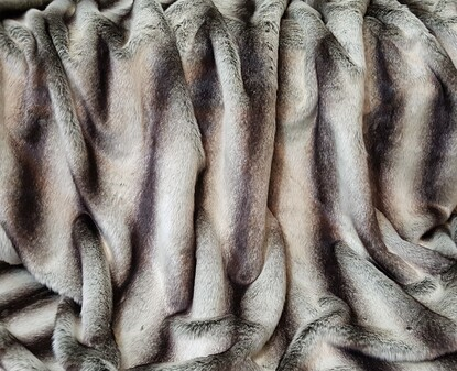 Chinchilla Faux Fur SECONDS Per Meter