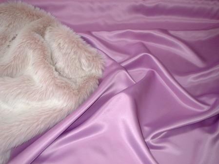 Dusky Pink Duchess Satin per meter