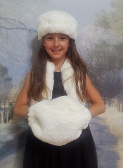 Children's Faux Fur Muff