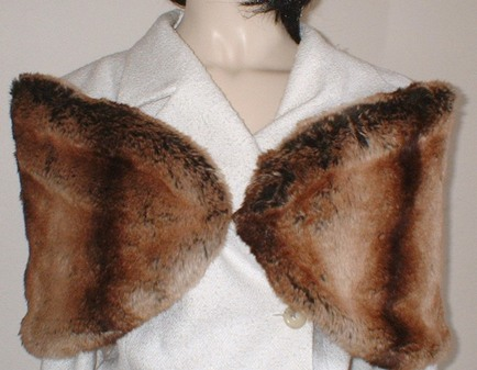 Madagascar Faux Fur Wrap