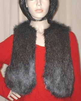 Wolfhound Faux Fur Bolero Waistcoat