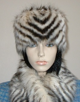Sumatra Tiger Faux Fur Hat