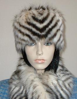 3011864668a Women   Faux Fur Hats   Knitted Hats with Faux Fur Bobble   Faux Fur ...