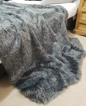 Egyptian Mau Faux Fur Throws