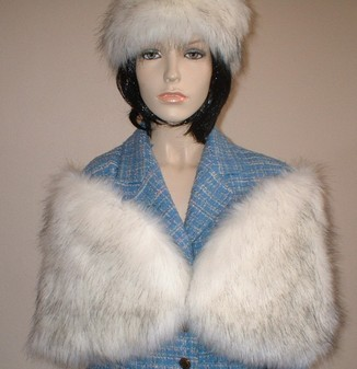 Alaska Faux Fur Wrap