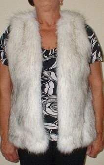 Alaska Faux Fur Gilet