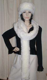 Marilyn Faux Fur Super Long Scarf