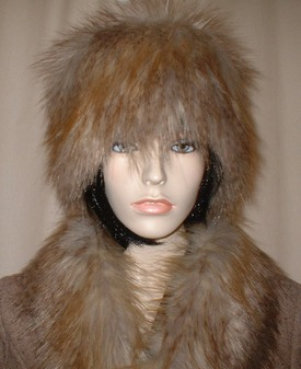 Coyote Faux Fur Hat