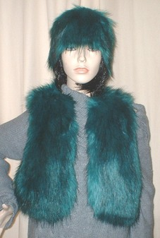 Jade Faux Fur Bolero Waistcoat