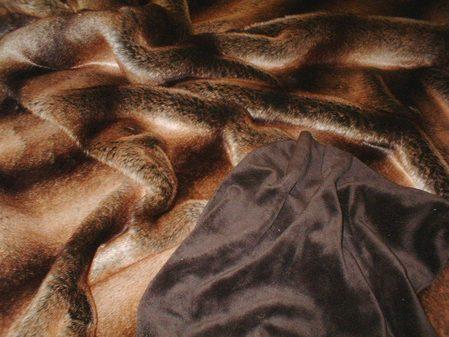 Madagascar Faux Fur Throw