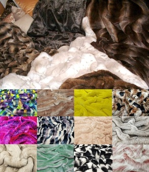 Set of Tissavel and Full Set of Faux Fur Swatches